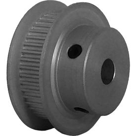 44 Tooth Timing Pulley, (Pwrgrip Gt) 2mm Pitch, Clear Anodized Aluminum, 44-2p06-6fa3 - Min Qty 5