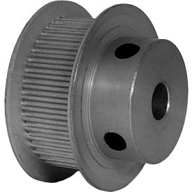 44 Tooth Timing Pulley, (Pwrgrip Gt) 2mm Pitch, Clear Anodized Aluminum, 44-2p09-6fa3 - Min Qty 5