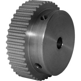 44 Tooth Timing Pulley, (Htd) 3mm Pitch, Clear Anodized Aluminum, 44-3m06m6a6 - Min Qty 5