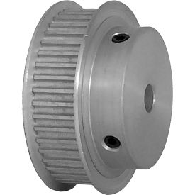 44 Tooth Timing Pulley, (Htd) 3mm Pitch, Clear Anodized Aluminum, 44-3m09-6fa3 - Min Qty 5