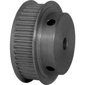 44 Tooth Timing Pulley, (Pwrgrip Gt) 3mm Pitch, Clear Anodized Aluminum, 44-3p09-6fa3 - Min Qty 5