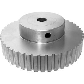 """44 Tooth Timing Pulley, (Xl) 1/5"""" Pitch, Clear Anodized Aluminum, 44xl037-6a4 - Min Qty 4"""