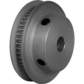 48 Tooth Timing Pulley, (Pwrgrip Gt) 2mm Pitch, Clear Anodized Aluminum, 48-2p03-6fa3 - Min Qty 5