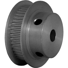 48 Tooth Timing Pulley, (Pwrgrip Gt) 2mm Pitch, Clear Anodized Aluminum, 48-2p06-6fa3 - Min Qty 5