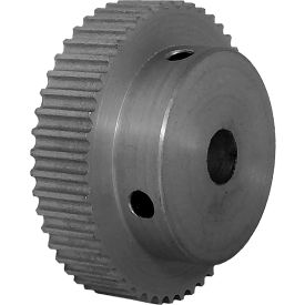 48 Tooth Timing Pulley, (Pwrgrip Gt) 3mm Pitch, Clear Anodized Aluminum, 48-3p06-6a4 - Min Qty 4