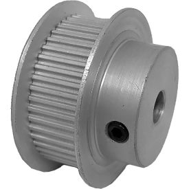 48 Tooth Timing Pulley, (Mxl) 0.08 Pitch, Gold Anodized Aluminum, 48mp037-6fa3 - Min Qty 5