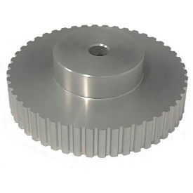 "48 Tooth Timing Pulley, (Xl) 1/5"" Pitch, Clear Anodized Aluminum, 48xl037-6a4 - Min Qty 3"