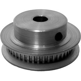 50 Tooth Timing Pulley, (Pwrgrip Gt) 2mm Pitch, Clear Anodized Aluminum, 50-2p03-6fa3 - Min Qty 5