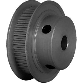 50 Tooth Timing Pulley, (Pwrgrip Gt) 2mm Pitch, Clear Anodized Aluminum, 50-2p06-6fa3 - Min Qty 5
