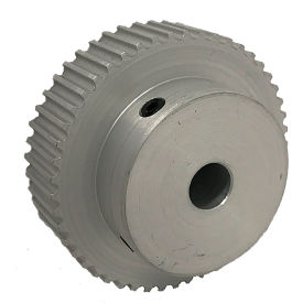 50 Tooth Timing Pulley, (Htd) 3mm Pitch, Clear Anodized Aluminum, 50-3m09-6a4 - Min Qty 5
