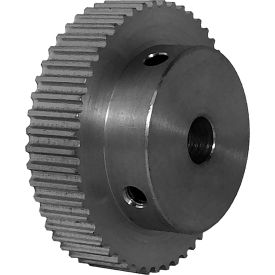 50 Tooth Timing Pulley, (Pwrgrip Gt) 3mm Pitch, Clear Anodized Aluminum, 50-3p06-6a4 - Min Qty 4
