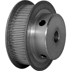 56 Tooth Timing Pulley, (Pwrgrip Gt) 2mm Pitch, Clear Anodized Aluminum, 56-2p09-6fa3 - Min Qty 5