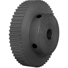 56 Tooth Timing Pulley, (Pwrgrip Gt) 3mm Pitch, Clear Anodized Aluminum, 56-3p06-6a4 - Min Qty 4