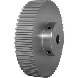 56 Tooth Timing Pulley, (Htd) 5mm Pitch, Clear Anodized Aluminum, 56-5m15-6a5 - Min Qty 3