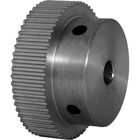 60 Tooth Timing Pulley, (Pwrgrip Gt) 2mm Pitch, Clear Anodized Aluminum, 60-2p06-6a3 - Min Qty 5
