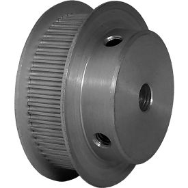 60 Tooth Timing Pulley, (Pwrgrip Gt) 2mm Pitch, Clear Anodized Aluminum, 60-2p09-6fa3 - Min Qty 5