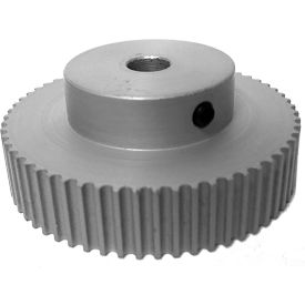 60 Tooth Timing Pulley, (Htd) 3mm Pitch, Clear Anodized Aluminum, 60-3m09-6a4 - Min Qty 4