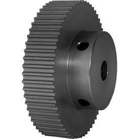 60 Tooth Timing Pulley, (Pwrgrip Gt) 3mm Pitch, Clear Anodized Aluminum, 60-3p09-6a4 - Min Qty 3