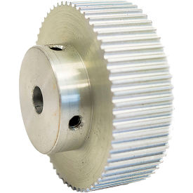 60 Tooth Timing Pulley, (Pwrgrip Gt) 3mm Pitch, Clear Anodized Aluminum, 60-3p15-6a4 - Min Qty 2