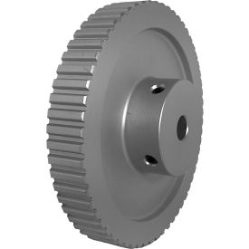 "60 Tooth Timing Pulley, (Xl) 1/5"" Pitch, Clear Anodized Aluminum, 60xl037-6wa5 - Min Qty 3"