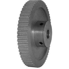 """60 Tooth Timing Pulley, (Xl) 1/5"""" Pitch, Clear Anodized Aluminum, 60xl037-6wa6 - Min Qty 3"""
