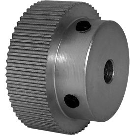 62 Tooth Timing Pulley, (Pwrgrip Gt) 2mm Pitch, Clear Anodized Aluminum, 62-2p09-6a3 - Min Qty 5