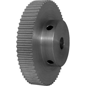 62 Tooth Timing Pulley, (Pwrgrip Gt) 3mm Pitch, Clear Anodized Aluminum, 62-3p06-6a4 - Min Qty 4