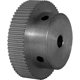 68 Tooth Timing Pulley, (Pwrgrip Gt) 2mm Pitch, Clear Anodized Aluminum, 68-2p06-6a3 - Min Qty 5