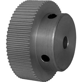 68 Tooth Timing Pulley, (Pwrgrip Gt) 2mm Pitch, Clear Anodized Aluminum, 68-2p09-6a3 - Min Qty 4