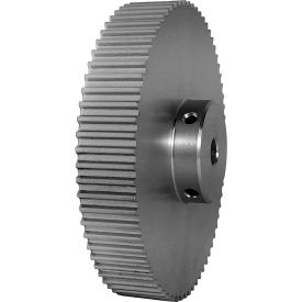 70 Tooth Timing Pulley, (Htd) 5mm Pitch, Clear Anodized Aluminum, 70-5m15-6a5 - Min Qty 2