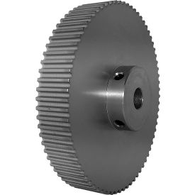 72 Tooth Timing Pulley, (Htd) 5mm Pitch, Clear Anodized Aluminum, 72-5m15m6a12 - Min Qty 2