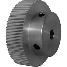 74 Tooth Timing Pulley, (Pwrgrip Gt) 2mm Pitch, Clear Anodized Aluminum, 74-2p09-6a3 - Min Qty 4