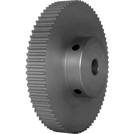 74 Tooth Timing Pulley, (Pwrgrip Gt) 3mm Pitch, Clear Anodized Aluminum, 74-3p06-6a4 - Min Qty 3