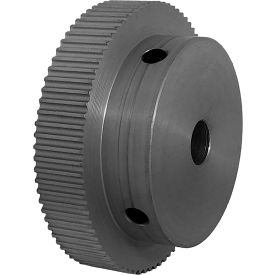 80 Tooth Timing Pulley, (Pwrgrip Gt) 2mm Pitch, Clear Anodized Aluminum, 80-2p06-6a4 - Min Qty 4