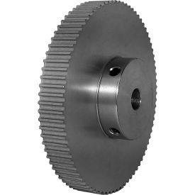 80 Tooth Timing Pulley, (Pwrgrip Gt) 3mm Pitch, Clear Anodized Aluminum, 80-3p06-6a4 - Min Qty 3
