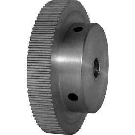 90 Tooth Timing Pulley, (Pwrgrip Gt) 2mm Pitch, Clear Anodized Aluminum, 90-2p06-6a4 - Min Qty 4