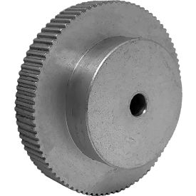 90 Tooth Timing Pulley, (Lt) 0.0816 Pitch, Clear Anodized Aluminum, 90lt187-6a3 - Min Qty 3
