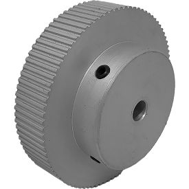 90 Tooth Timing Pulley, (Lt) 0.0816 Pitch, Clear Anodized Aluminum, 90lt312-6a3 - Min Qty 3