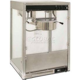 Benchmark USA 11147 Silver Screen Popcorn Machine 14 oz Silver 120V 1760W