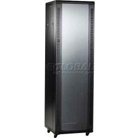 "Bud BRP-12202 Budrack Professional Series Cabinet Rack 23-5/8""W x 23-5/8""D x 49-3/8""H"