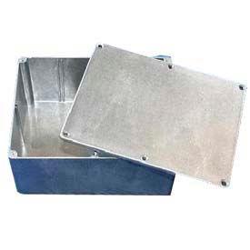 """Bud Cn-5714 Cn-Series Die Cast Aluminum Enclosure 10.81"""" L X 6.89"""" W X 2.64"""" H - Min Qty 3"""