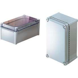 "Bud NBD-10472 UL/NEMA/IEC NBD Series Indoor Box With Clear Door 14.96"" L x 11.02"" W x 7.01"" H"