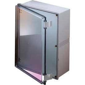 "Bud NBE-10573 UL/NEMA/IEC NBE Series with Clear Door 19.17"" L x 14.64"" W x 7.85"" H"