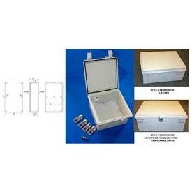 """Bud NBF-32230 UL/NEMA/IEC NBF Series Style A Indoor Bx W/ Clear Door 17.71"""" L x 13.78"""" D x 7.87"""" H"""