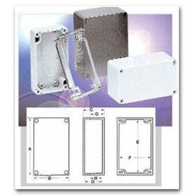 """Bud Pn-1322-C Nema 4x - Pn Series Box 4.53"""" L X 2.56"""" W X 2.17"""" H Clear - Min Qty 8"""