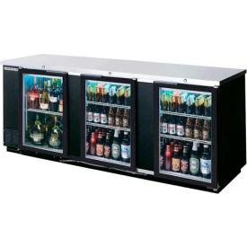 "Glass Door Back Bar Refrigerator BB-G Series, 95""W - BB94G"