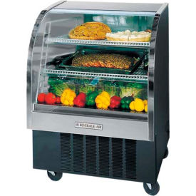 """Curved Glass Refrigerated Product Merchandiser CDR Series, 37-3/16""""W - CDR3"""