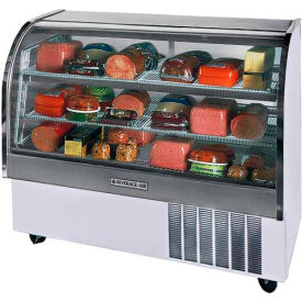 """Curved Glass Refrigerated Product Merchandiser CDR Series, 61-1/16""""W - CDR5"""