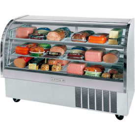 "Curved Glass Refrigerated Product Merchandiser CDR Series, 73-3/16""W - CDR6"