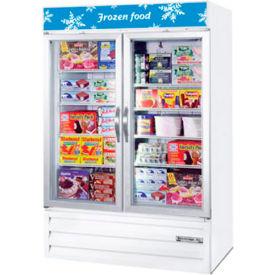 """Two Door Glass Door Merchandiser Freezer, 52""""W - MMF49-1-W FREEZER"""